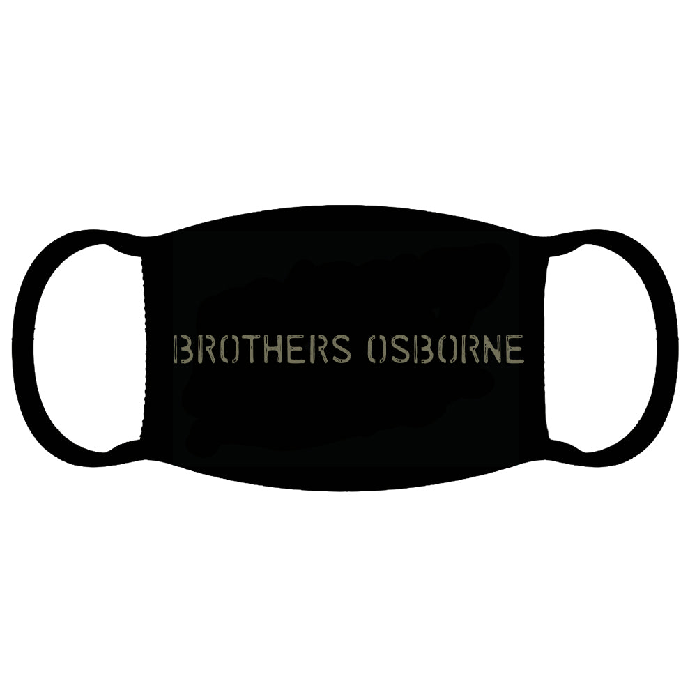 Brothers Osborne Face Mask
