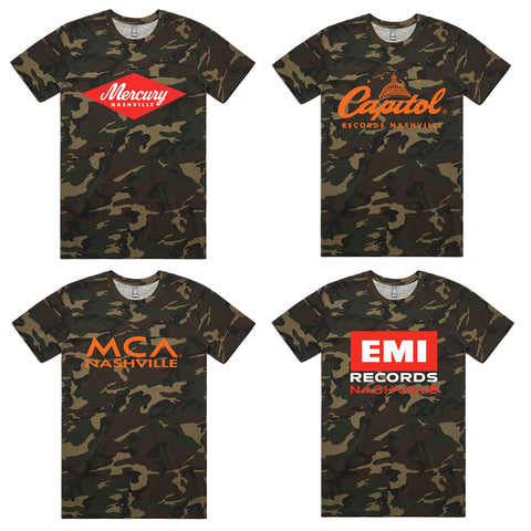 Camo Label Tee Bundle