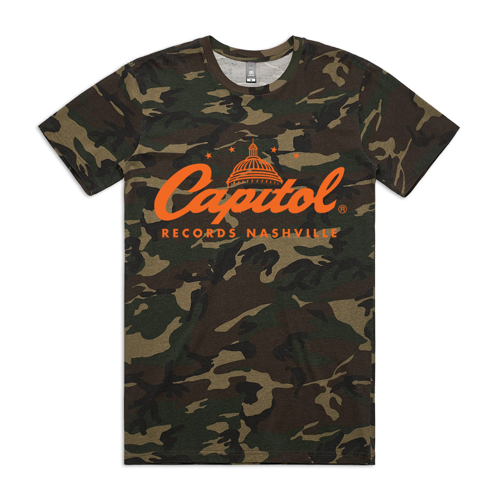 Capitol Records Nashville Camo (T-Shirt)