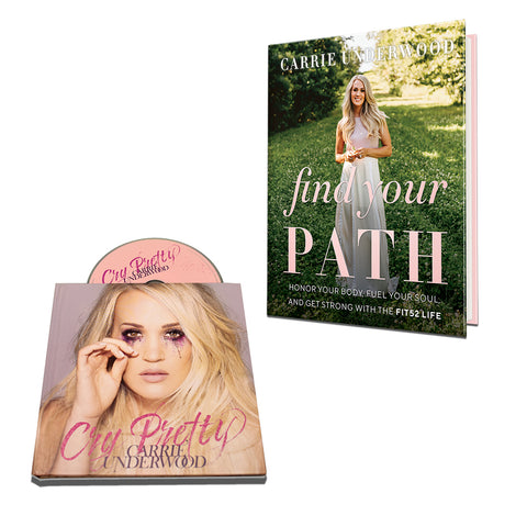 Carrie Underwood - FIND YOUR PATH + Cry Pretty (Photo Book + CD)