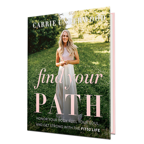 Carrie Underwood - FIND YOUR PATH Book (Hardback)