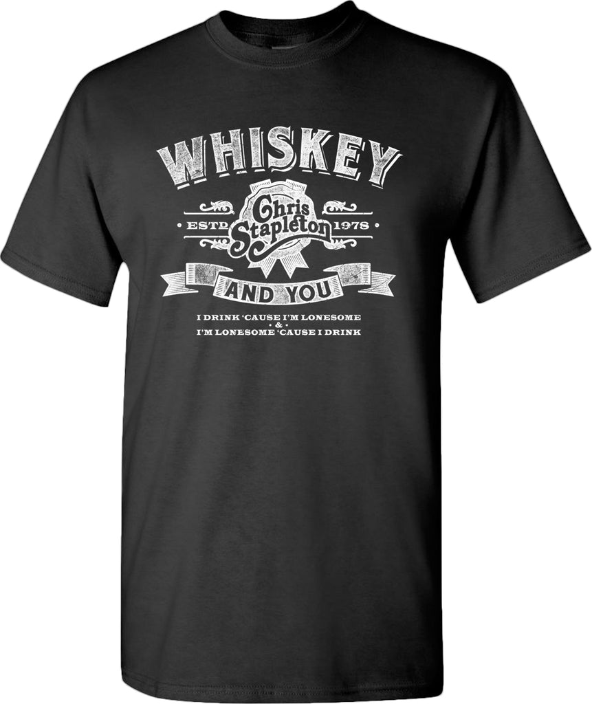 Chris Stapleton - Whiskey and You T-Shirt