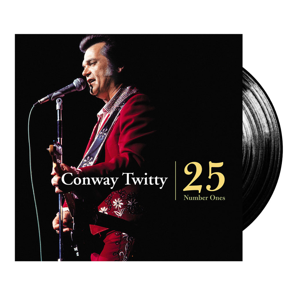 Conway Twitty - 25 #1 Hits (Vinyl - 2LP)