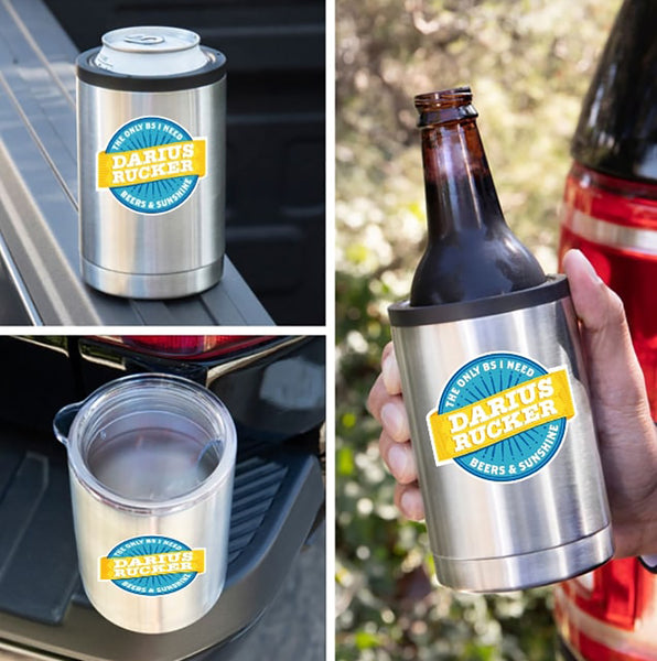 Darius Rucker Beers & Sunshine 3-in-1 Drink Tumbler