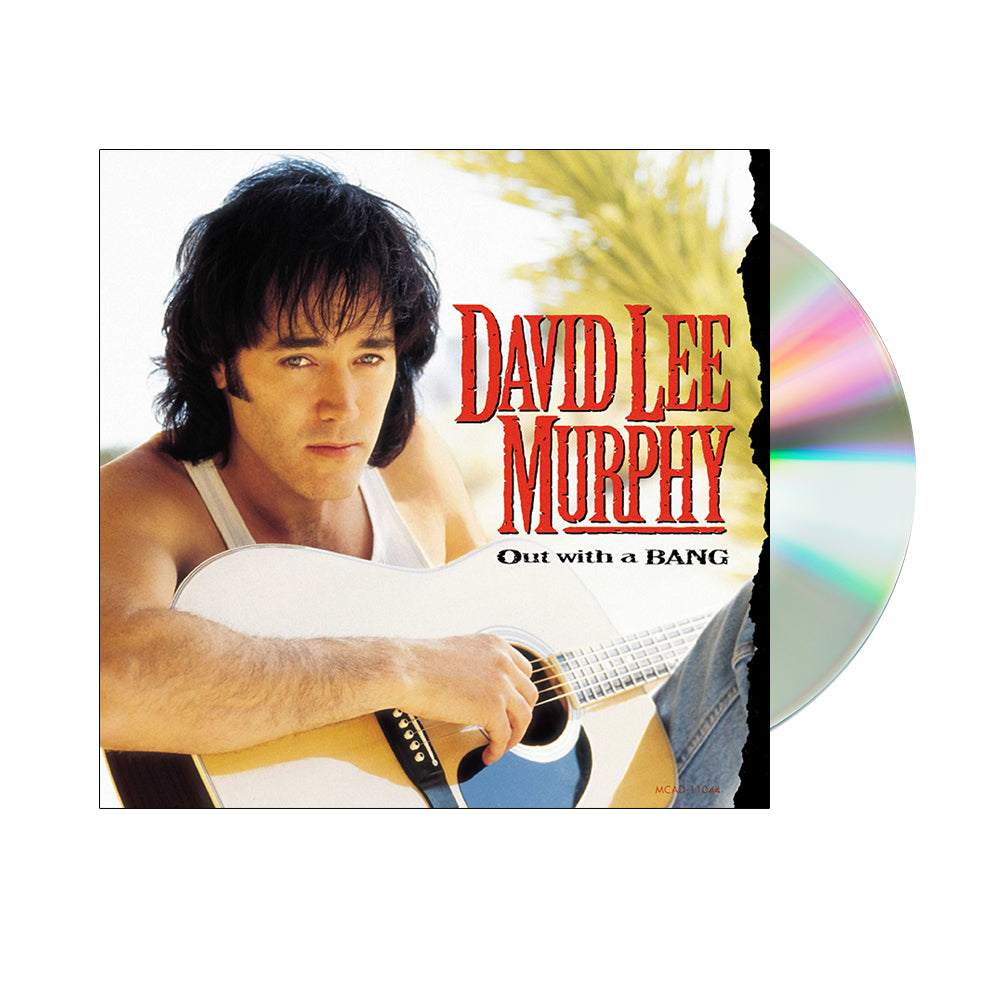 David Lee Murphy - Out With A Bang (CD)