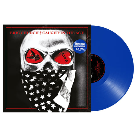 Eric Church - Caught In The Act (Vinyl - Blue)