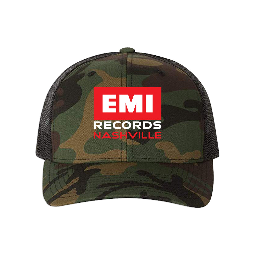 EMI Records Nashville Camo Trucker Hat