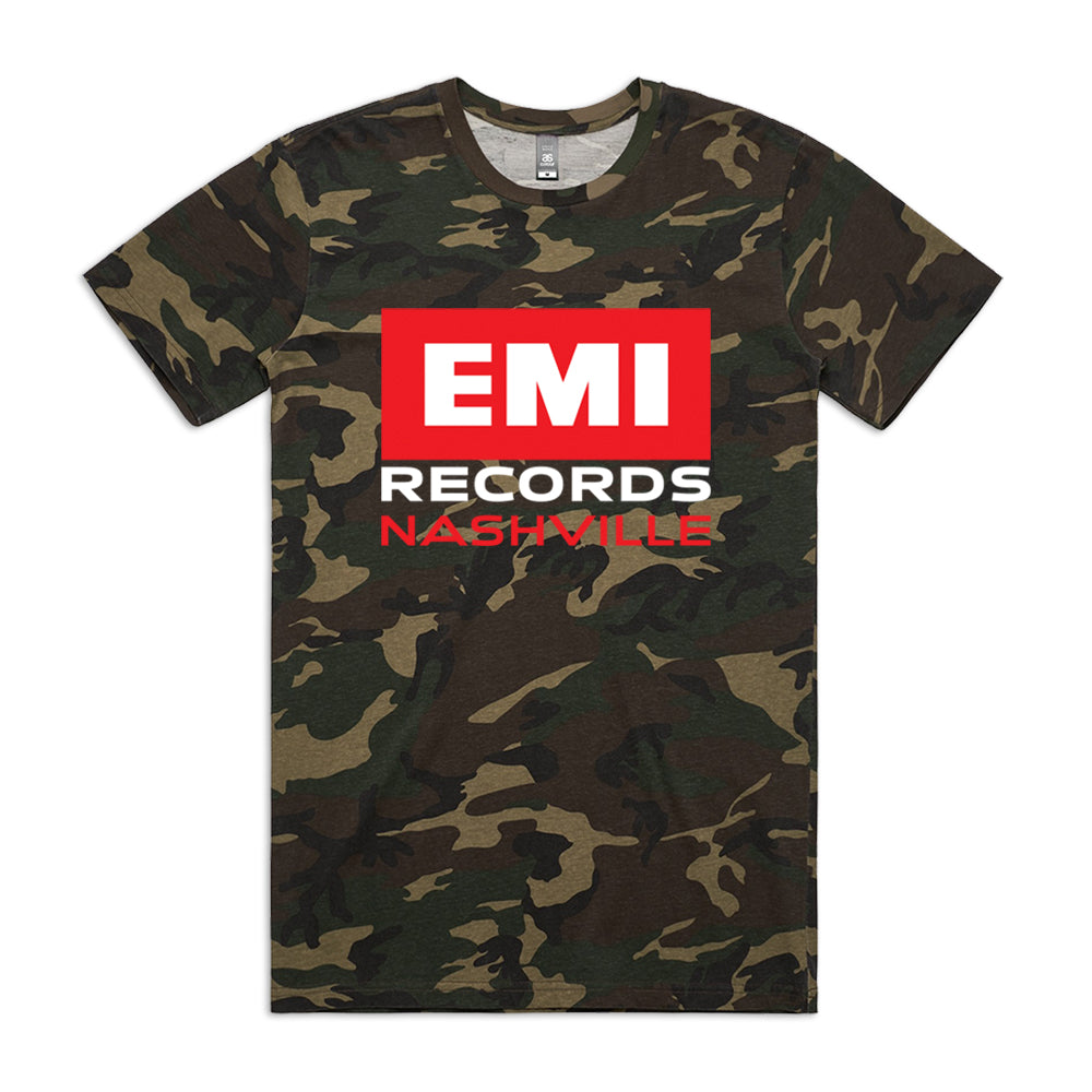 EMI Records Nashville Camo T-Shirt