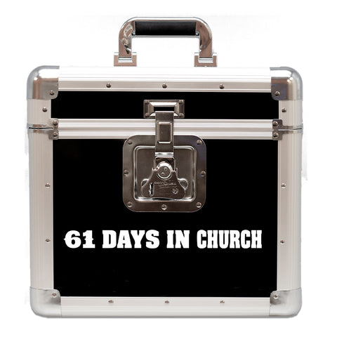 Eric Church - 61 Days of Church Vinyl Record Road Case