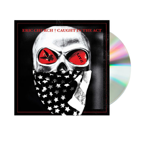 Eric Church - Caught in the Act Live (CD)