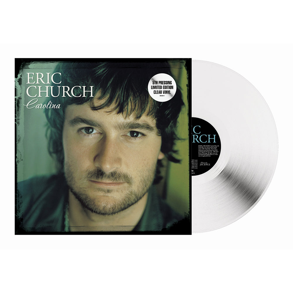 Eric Church - Carolina (Vinyl - Clear) Pre-Order