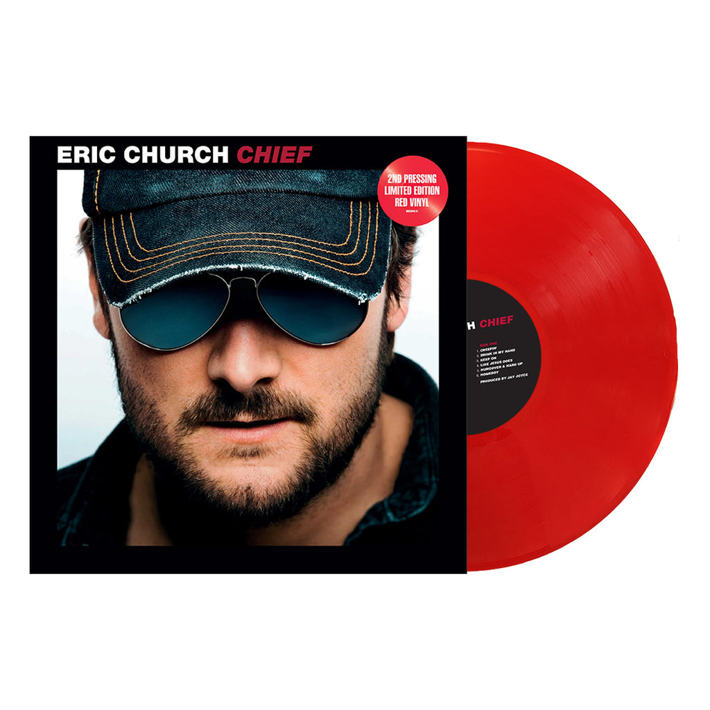 Eric Church - Chief (Vinyl - Red)