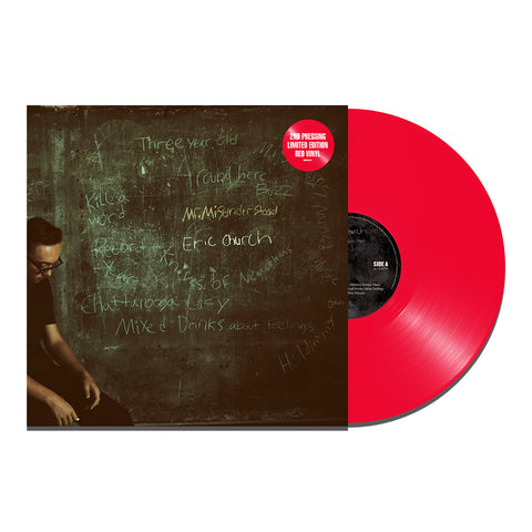 Eric Church - Mr. Misunderstood (Vinyl-Red)