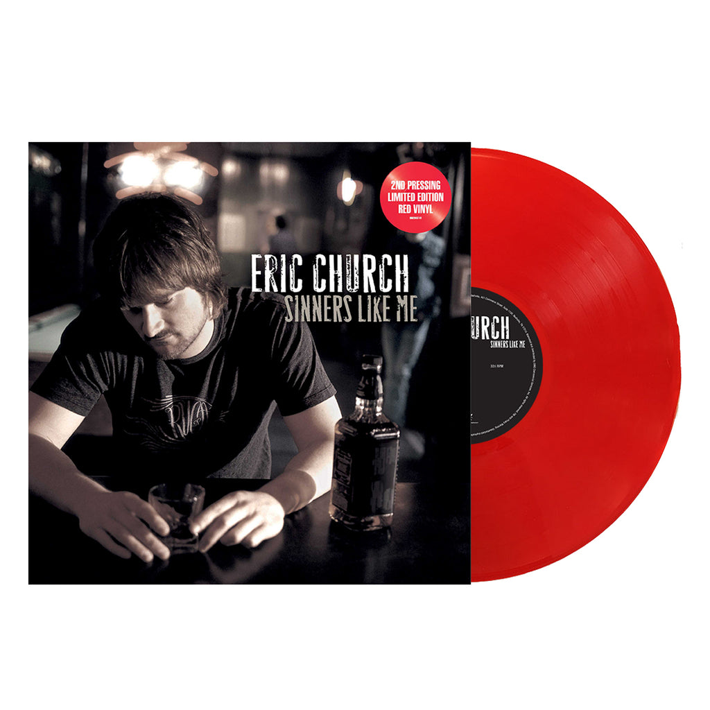 Eric Church- Sinners Like Me (Vinyl-Red)