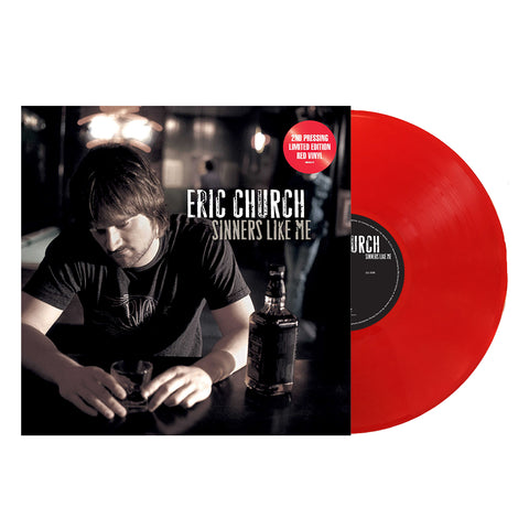 Eric Church - Sinners Like Me (Vinyl-Red)