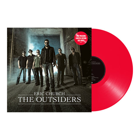 Eric Church - The Outsiders (Vinyl-Red 2LP)