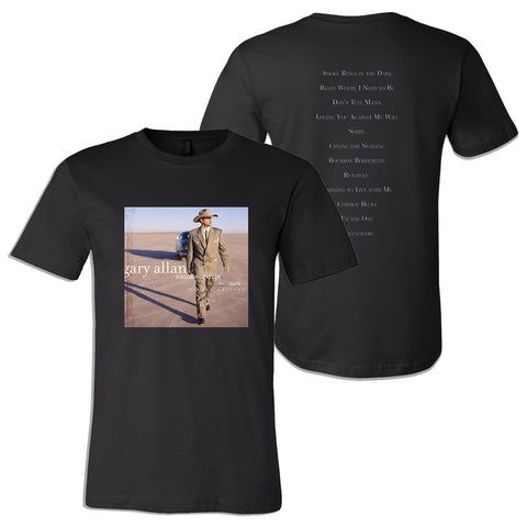Gary Allan - Smoke Rings in the Dark T-Shirt