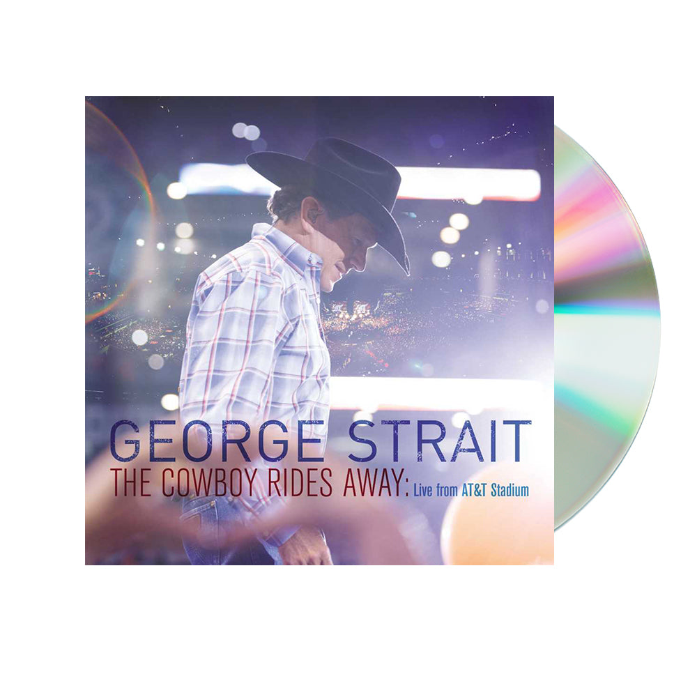 George Strait - The Cowboy Rides Away: Live from AT&T Stadium (CD)