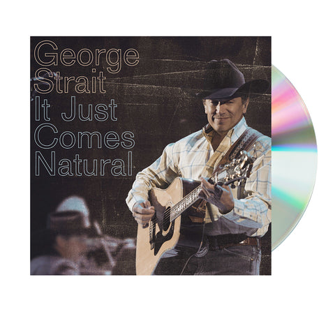 George Strait - It Just Comes Natural (CD)