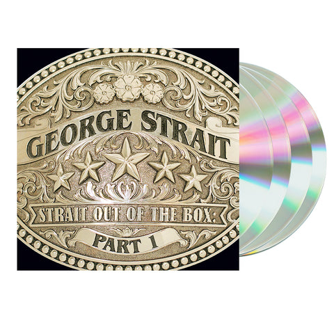 George Strait – Strait Out of the Box: Part I (4-CD Box-Set)