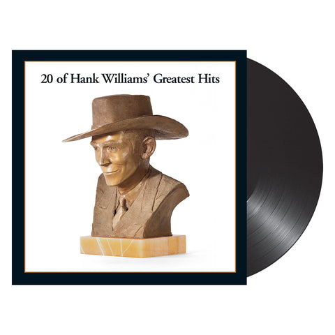 Hank Williams - 20 of Hank Williams' Greatest Hits (Vinyl)