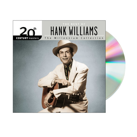 Hank Williams - 20th Century Masters: The Best Of Hank Williams (CD)