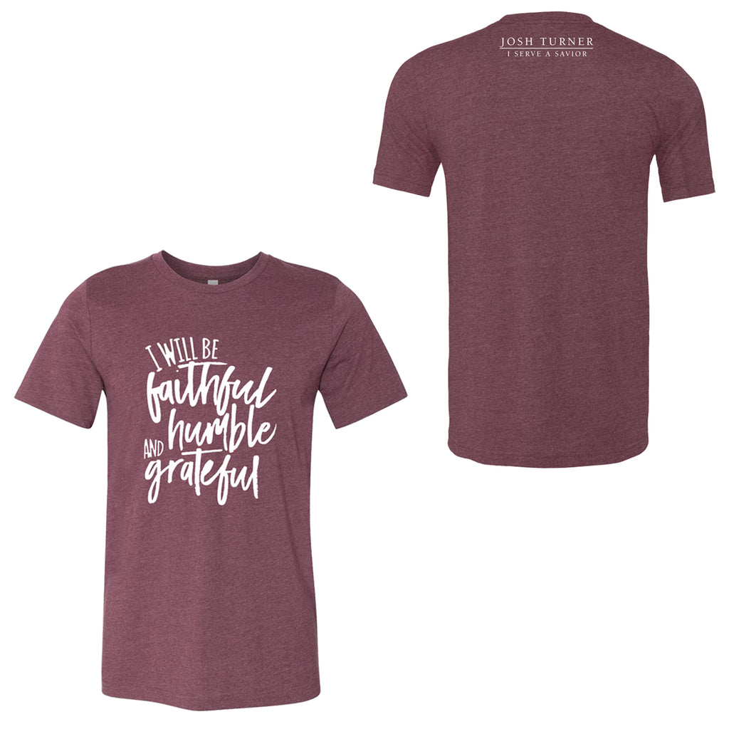 Josh Turner - I Serve a Savior Lyric T-Shirt