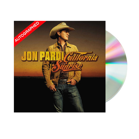 Jon Pardi - California Sunrise (CD - Autographed)