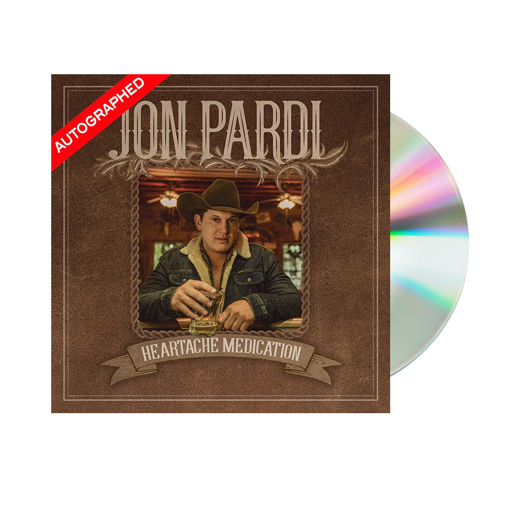 Jon Pardi - Heartache Medication (CD-Autographed)