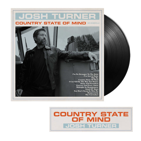 Josh Turner - Country State Of Mind (Pre-Order Vinyl)