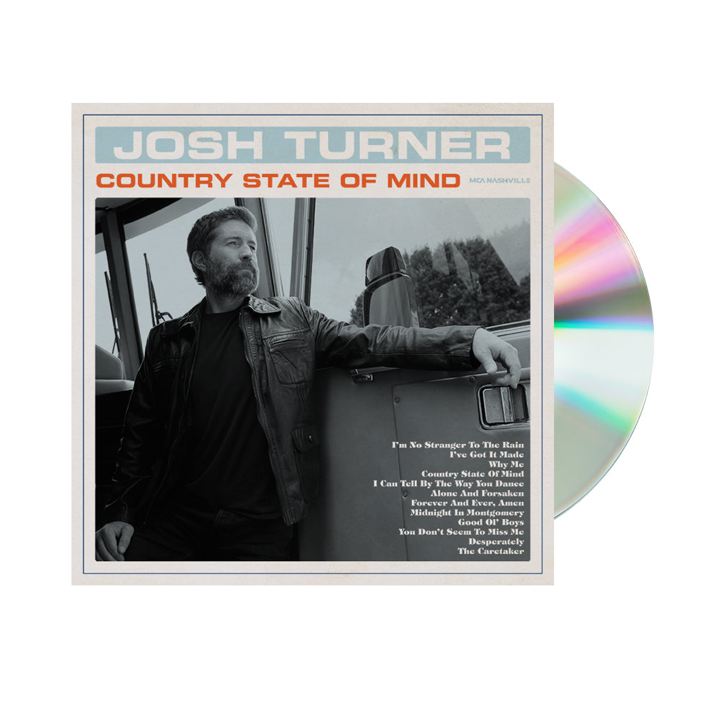 Josh Turner - Country State Of Mind (Pre-Order CD)