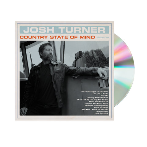 Josh Turner - Country State Of Mind CD (Pre-Order)