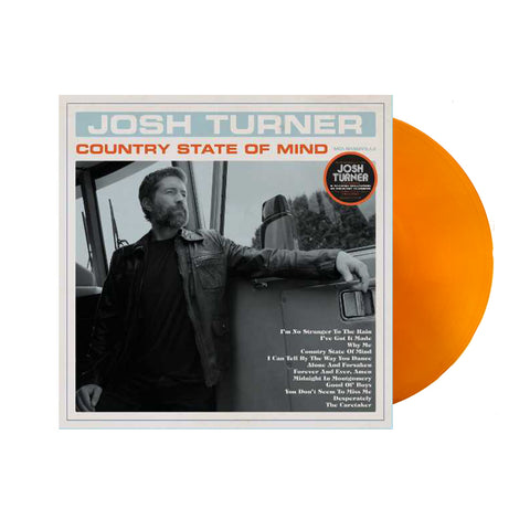 Josh Turner - Country State Of Mind (Vinyl-Orange)