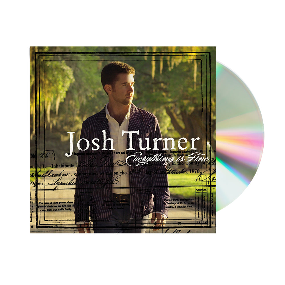 Josh Turner - Everything Is Fine (CD)