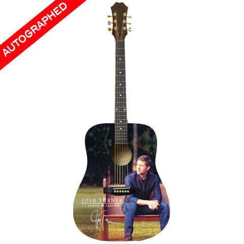Josh Turner - I Serve A Savior Autographed Guitar