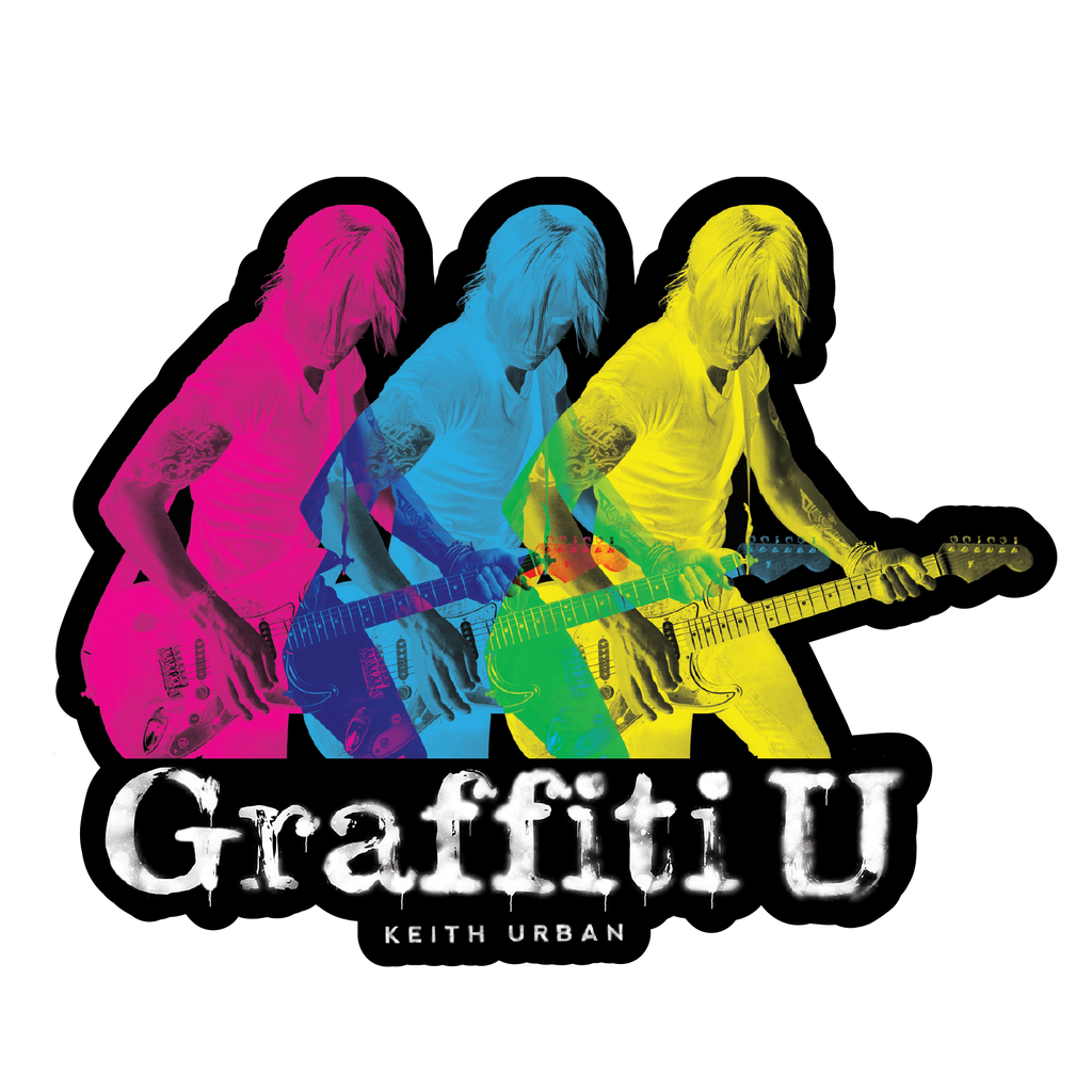 Keith Urban - Graffiti U Sticker