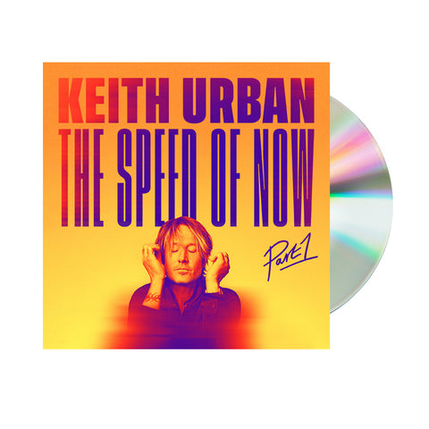 Keith Urban- THE SPEED OF NOW Part 1 (CD)