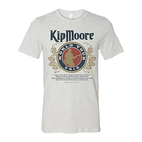 Kip Moore - Beer Money '19 T-Shirt