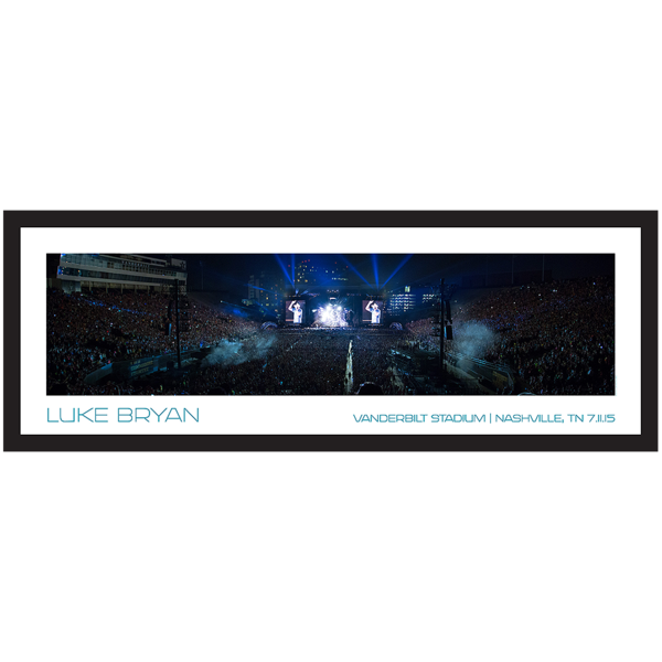 Luke Bryan - Stadium Panoramic Print