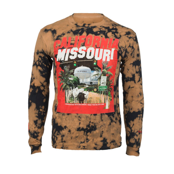 Kassi Ashton - California, Missouri Acid Wash Long Sleeve T-Shirt