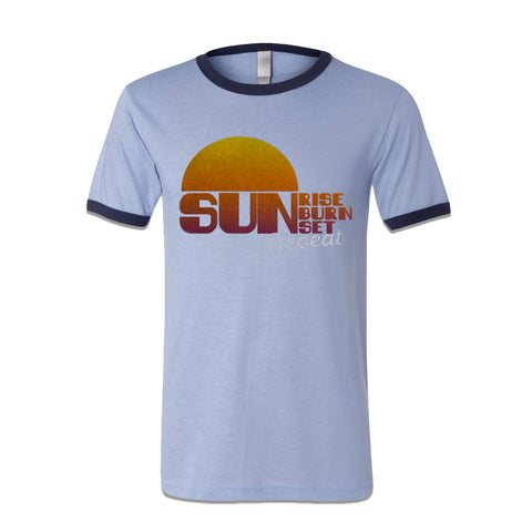 Luke Bryan - Sunset Repeat Ringer T-Shirt