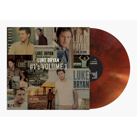Luke Bryan - #1's Volume 1 (Vinyl-Root Beer Brown)