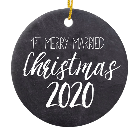 Maddie & Tae Merrily Married Ornament