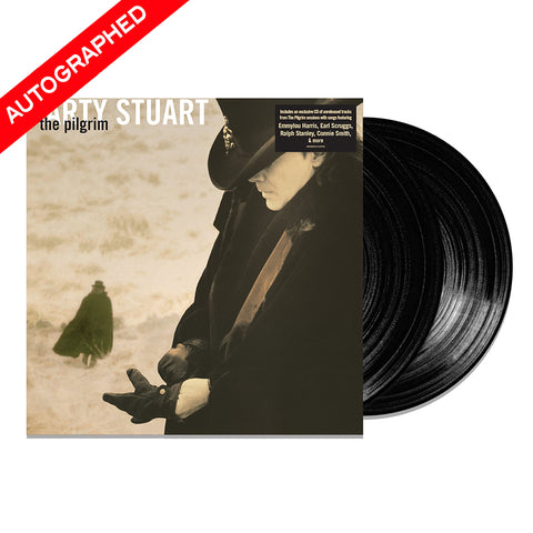 Marty Stuart - The Pilgrim (Vinyl-2LP-Autographed)