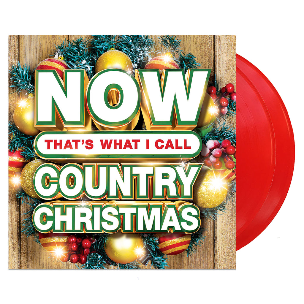 Various Artists - Now Country Christmas (RED Vinyl)