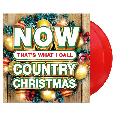 Various Artists - Now Country Christmas (RED Vinyl)- Pre-Order