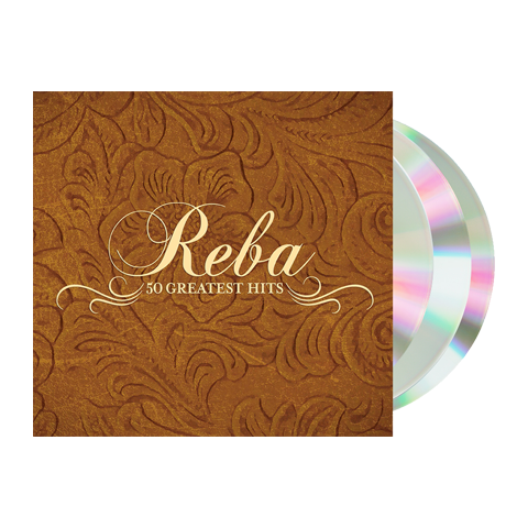 Reba McEntire - 50 Greatest Hits (CD-3CD Set)
