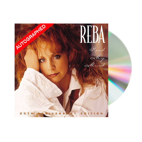 Reba McEntire – Read My Mind: 25th Anniversary Edition (CD-Autographed)