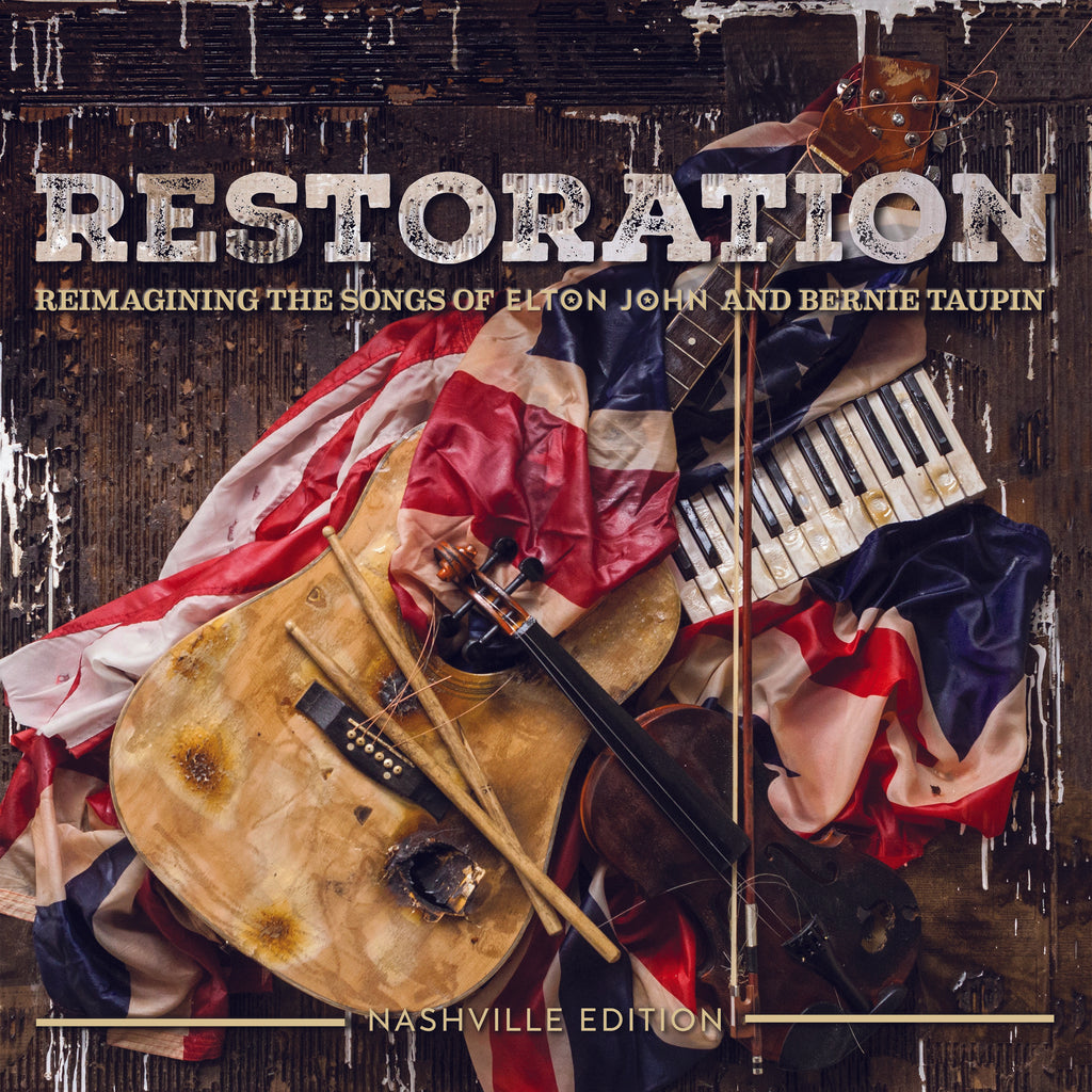 Various Artists Restoration-Reimagining The Songs of Elton John and Bernie  Taupin (CD)