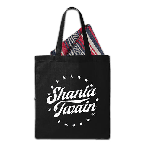 Shania Twain - Star Logo Tote and Blanket